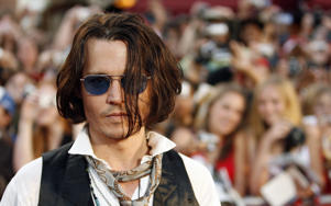 "Cast member Johnny Depp attends the premiere of ""Pirates of the Caribbean: At World's End"" at Disneyland in Anaheim, California May 19, 2007."