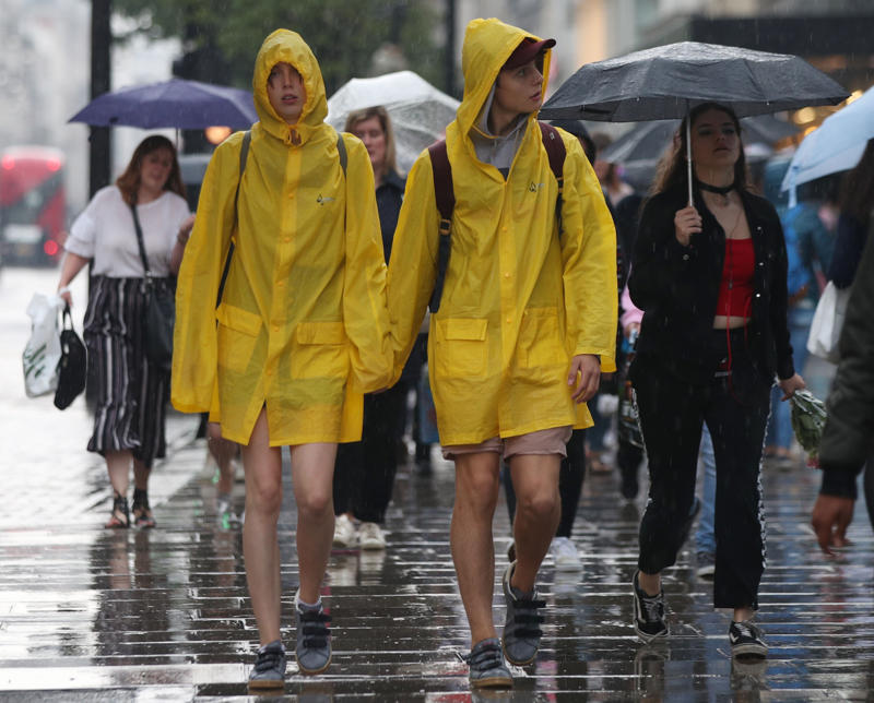Thunderstorms could batter parts of UK this weekend