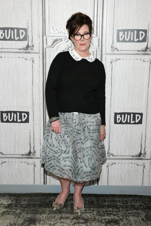 Kate Spade attends Build Series Presents Kate Spade and Andy Spade Discussing Their Latest Project Frances Valentine at Build Studio on April 28, 2017 in New York City.