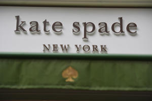 A sign for a Kate Spade shop in Covent Garden, London