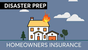 a close up of a sign: Disaster Prep: A Simple Way To Make Sure You Recover Your Stuff