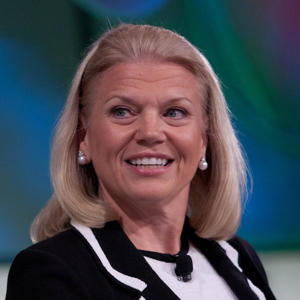 Ginni Rometty smiling for the camera