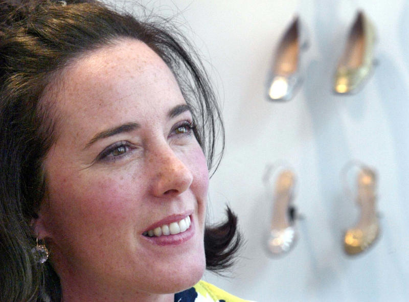 Designer Kate Spade who committed suicide earlier this month.