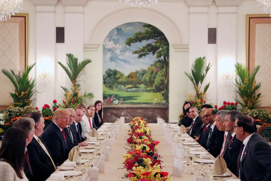 Slide 4 de 24: Em fotos: Donald Trump e Kim Jong Un se encontrarão em Singapura