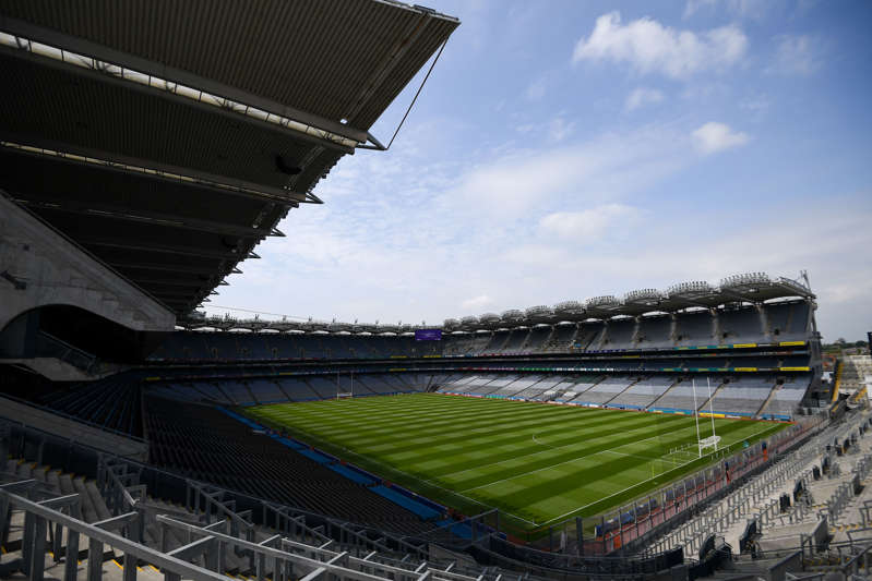 Dublin , Ireland - 10 June 2018; A general view of Croke Park prior to the Leinster GAA Football Senior Championship Semi-Final match between Carlow and Laois at Croke Park in Dublin. (Photo By Stephen McCarthy/Sportsfile via Getty Images)