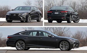 a car parked in a parking lot: Lexus LS500 F Sport AWD Tested: Moderately Assertive