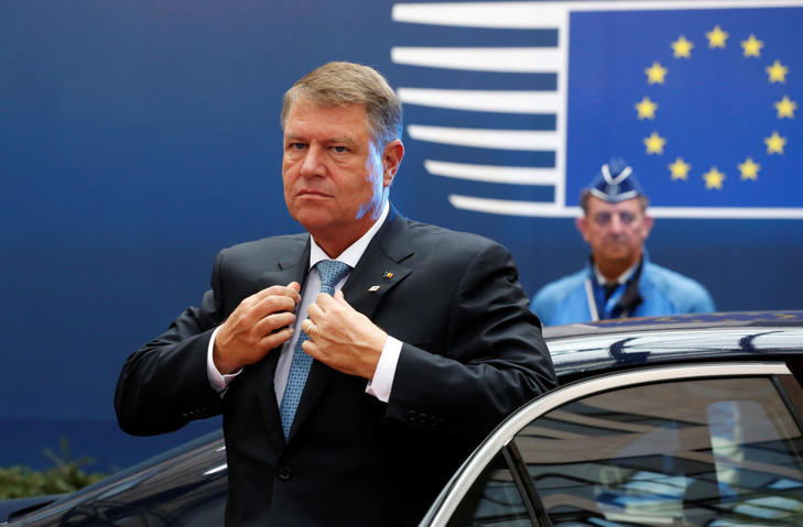 Romania's President Klaus Werner Iohannis