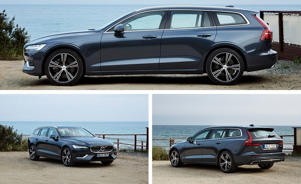 a car parked in a parking lot: 2019 Volvo V60 Driven: Estate Planning