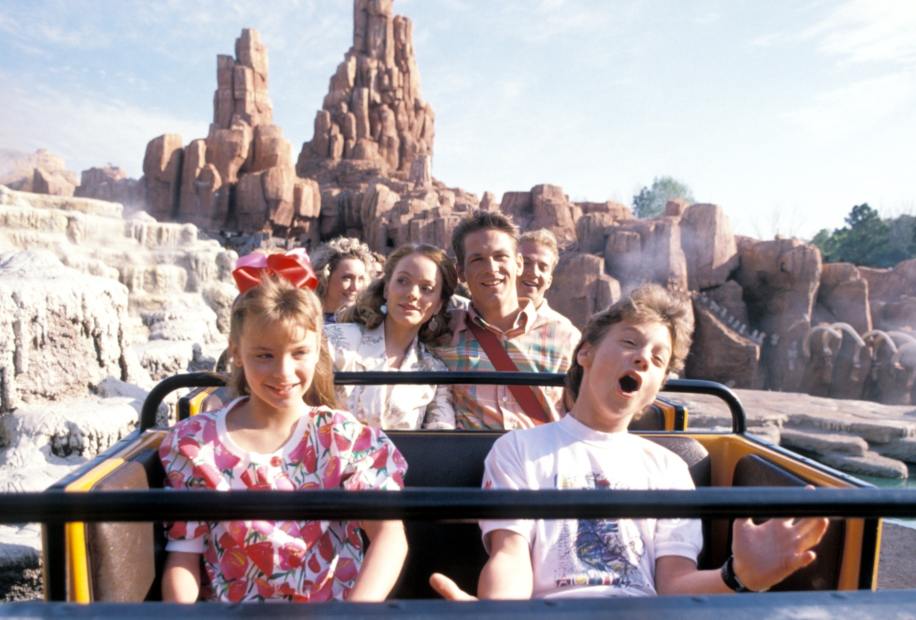 Slide 32 of 33: Big Thunder Mountain Railroad, 1990 Photo by Peter Bischoff/Getty Images)