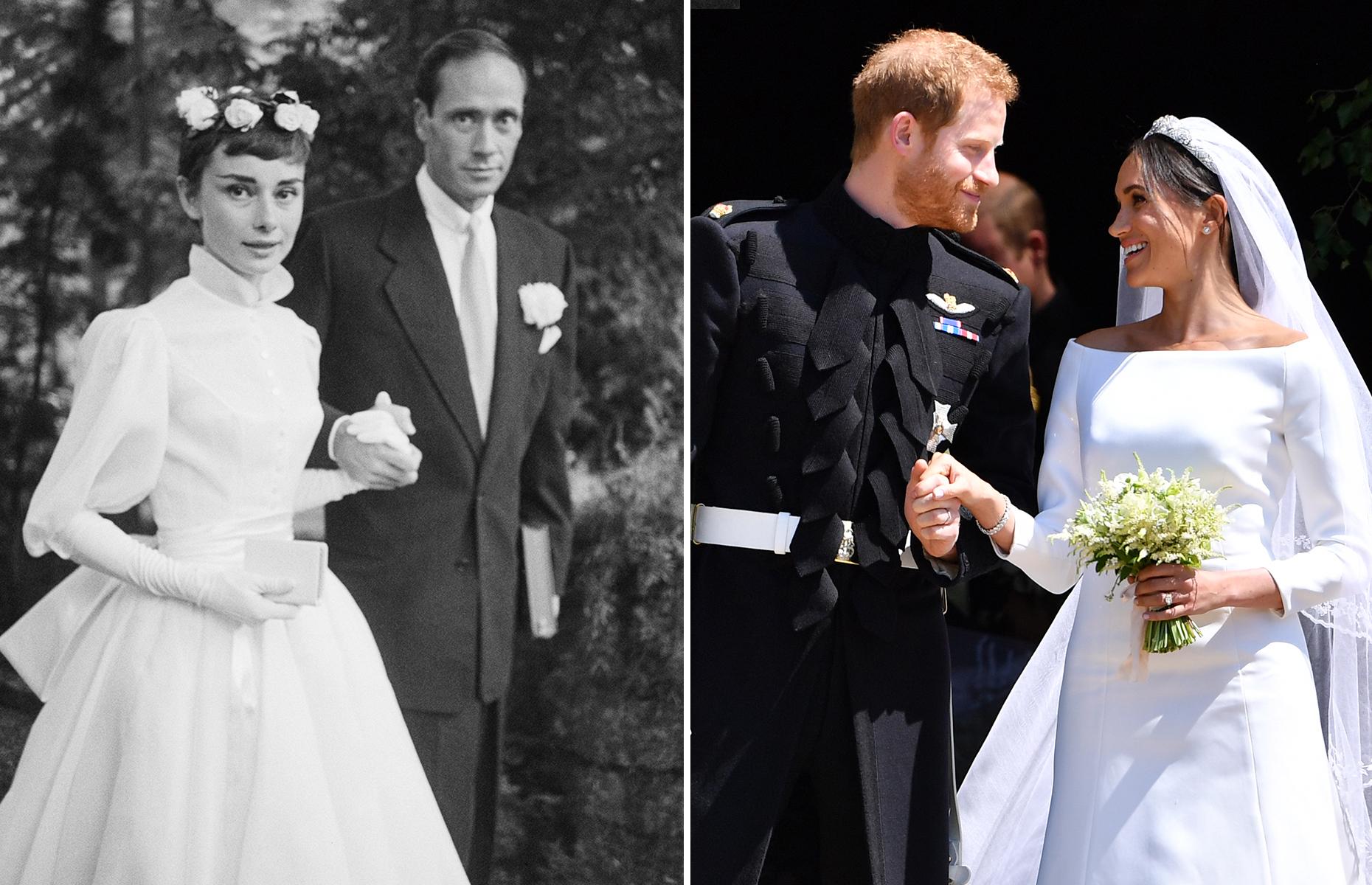 Les stars dans leurs robes de mariage