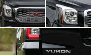 a close up of a car: 10 Spot: The GMC Yukon Denali Gets a 10-Speed Automatic