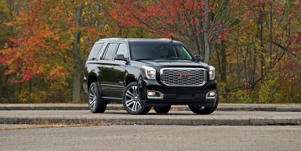 10 Spot: The GMC Yukon Denali Gets a 10-Speed Automatic: Our test of the GMC Yukon Denali, which received some minor updates and a 10-speed automatic for the 2018 model year. Read the review and see photos at Car and Driver.