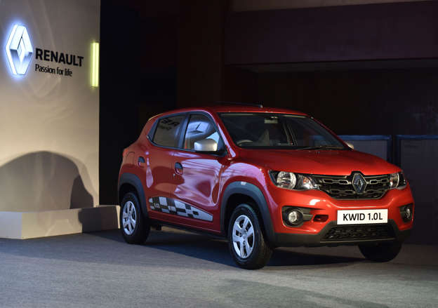 a370e0d3fca NEW DELHI, INDIA - AUGUST 22  Renault launches Kwid with 1.0L Smart Control