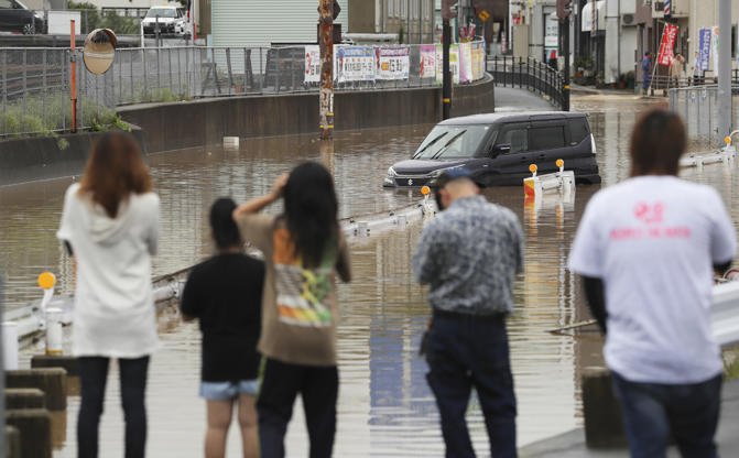 Image result for Japan rains disaster toll rises to 199: government