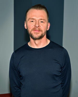 LAS VEGAS, NV - APRIL 25:  Actor Simon Pegg attends Paramount Pictures Presentation at 2018 CinemaCon at The Colosseum at Caesars Palace on April 25, 2018 in Las Vegas, Nevada.  (Photo by David Becker/Getty Images for Paramount Pictures)