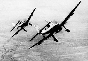 Germany's Luftwaffe launches air attacks on Britain