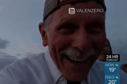 Grandpa accidentally films self instead of proposal