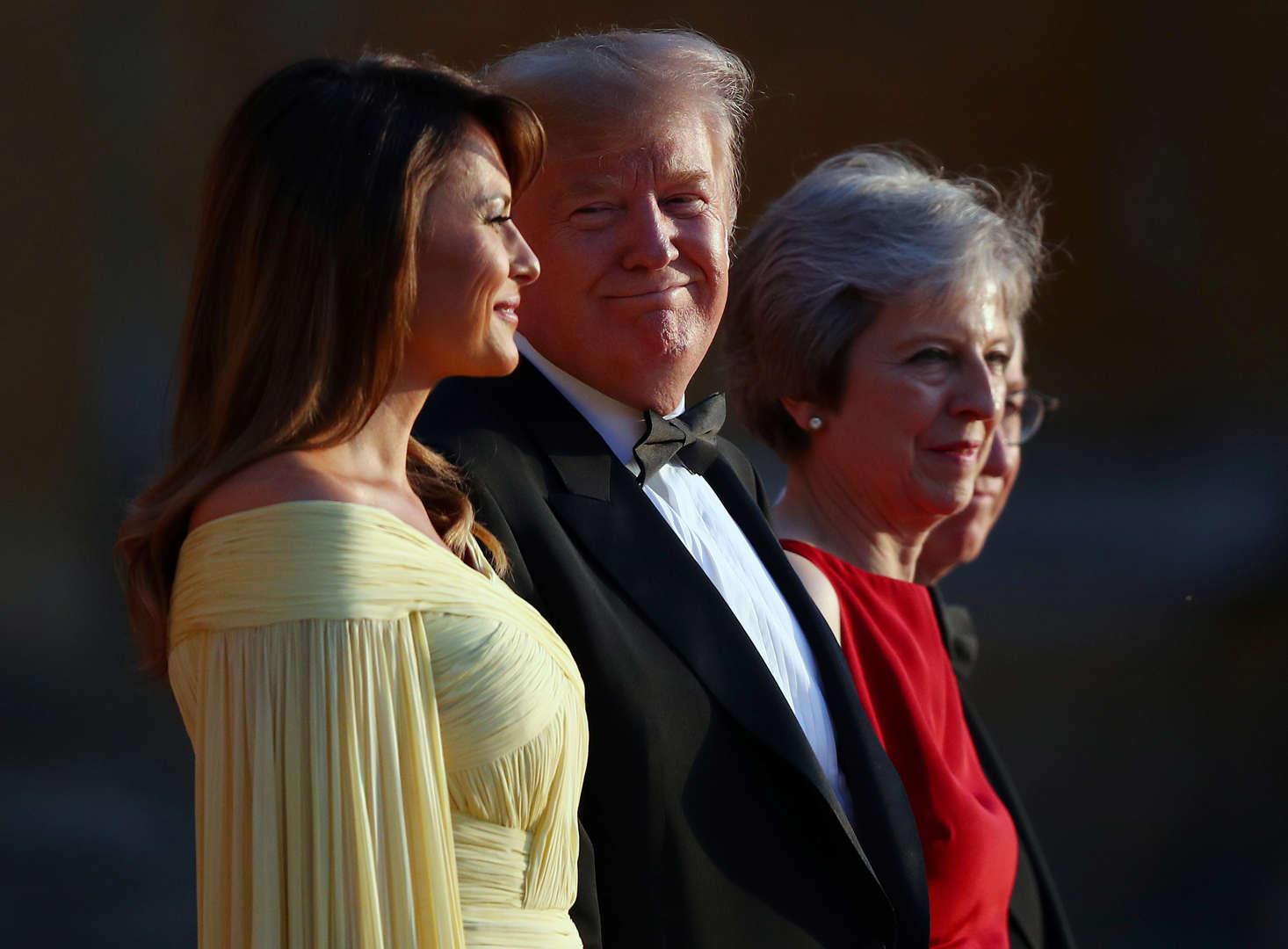 photos donald trump s europe tour