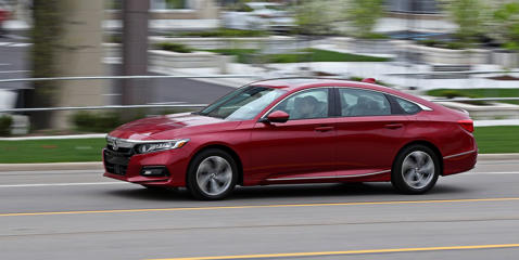 The Honda Accord is a 10Best Cars winner, but how well will it handle 40,000 miles of abuse? Read more and see pictures at Car and Driver.