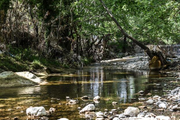 Διαφάνεια 30 από 35: A small river in the area of Eria on Euboea on May 1, 2017(Photo by Wassilios Aswestopoulos/NurPhoto via Getty Images)