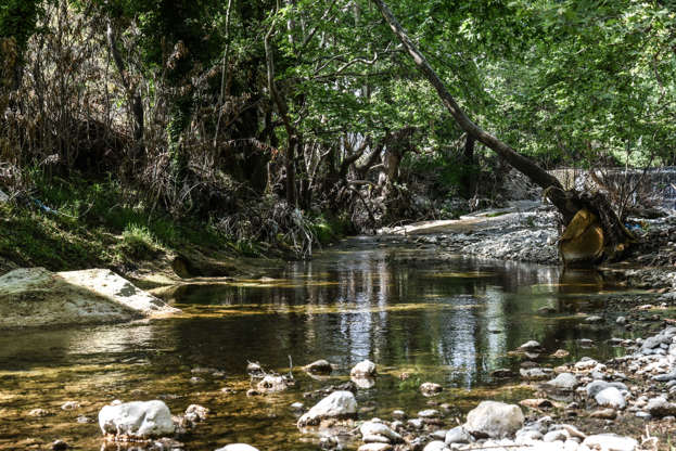 Διαφάνεια 30 από 35: A small river in the area of Eria on Euboea on May 1, 2017(Photo by Wassilios Aswestopoulos/NurPhoto via Getty Images)