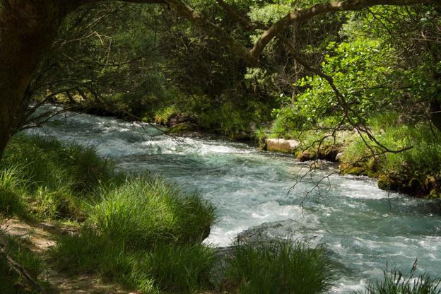 Διαφάνεια 7 από 35: View of Lousios river in Peloponnese, Greece.
