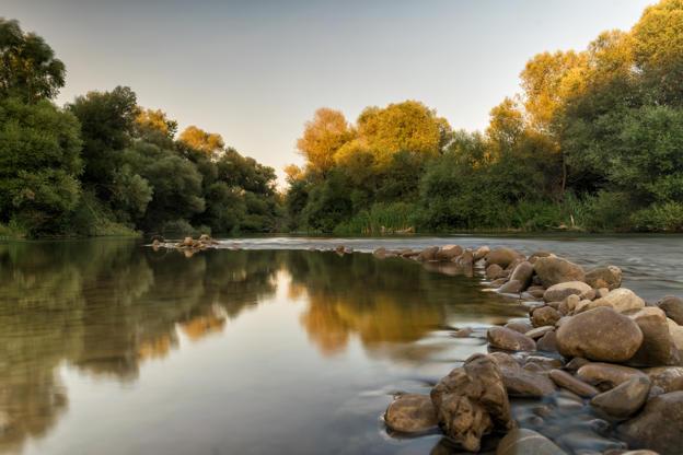 Διαφάνεια 2 από 35: River Alfeios in Greece. A touristic destination in Peloponnese.