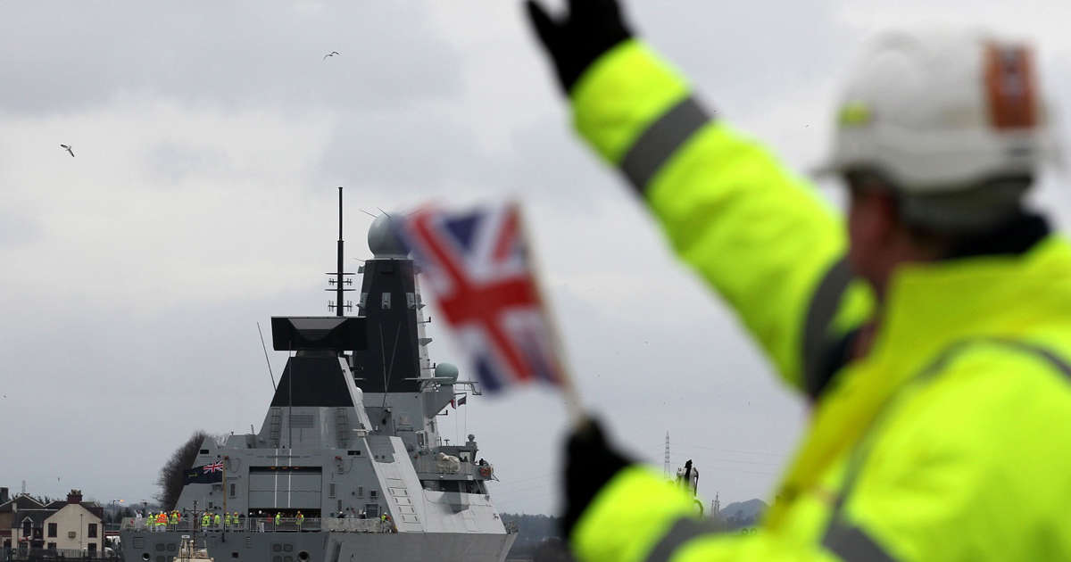 BAE Systems wins £20bn contract to build warships for Australia