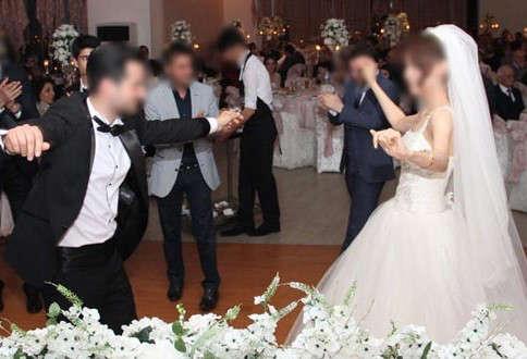 Davetliler fotoğraf çekince düğün iptal oldu