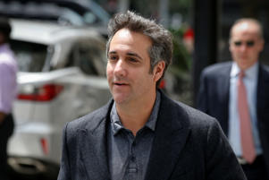 Michael Cohen arrives at his hotel in New York City, U.S., June 20, 2018. REUTERS/Brendan McDermid