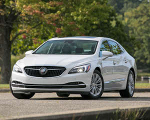 Car And Driver Read Our Most Comprehensive Review Of The 2018 Buick Lacrosse S Standard Features Trim Levels