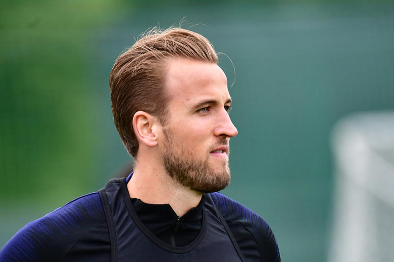 England's forward Harry Kane takes part in a training session in Repino on July 2, 2018 during the Russia 2018 World Cup football tournament. (Photo by GIUSEPPE CACACE / AFP)        (Photo credit should read GIUSEPPE CACACE/AFP/Getty Images)