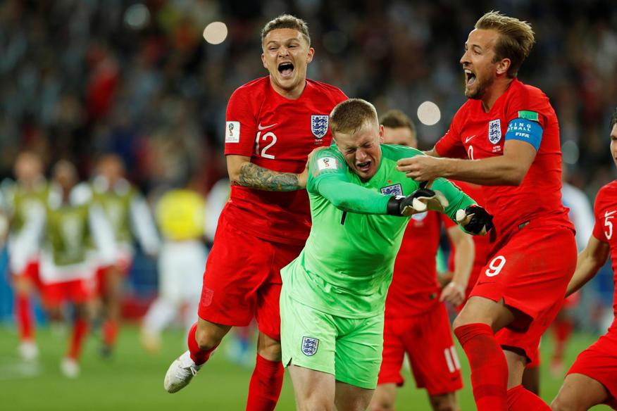 A Inglaterra está nas quartas de final