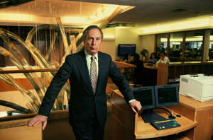 Bloomberg LP chief executive Mike Bloomberg in 1998. Multiple lawsuits have been filed over the years alleging discrimination against women and sexual harassment at his company; none has proceeded to trial.