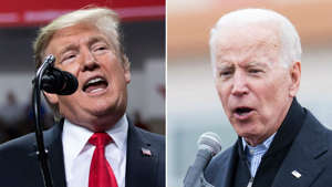 Donald Trump, Joe Biden are posing for a picture: Biden insists he will debate Trump after Pelosi remarks