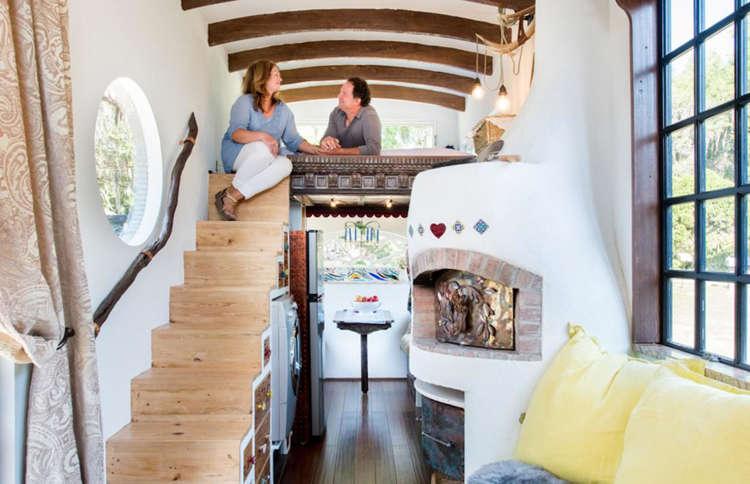 How A Couple Built Their Tiny House On Wheels For 15 000