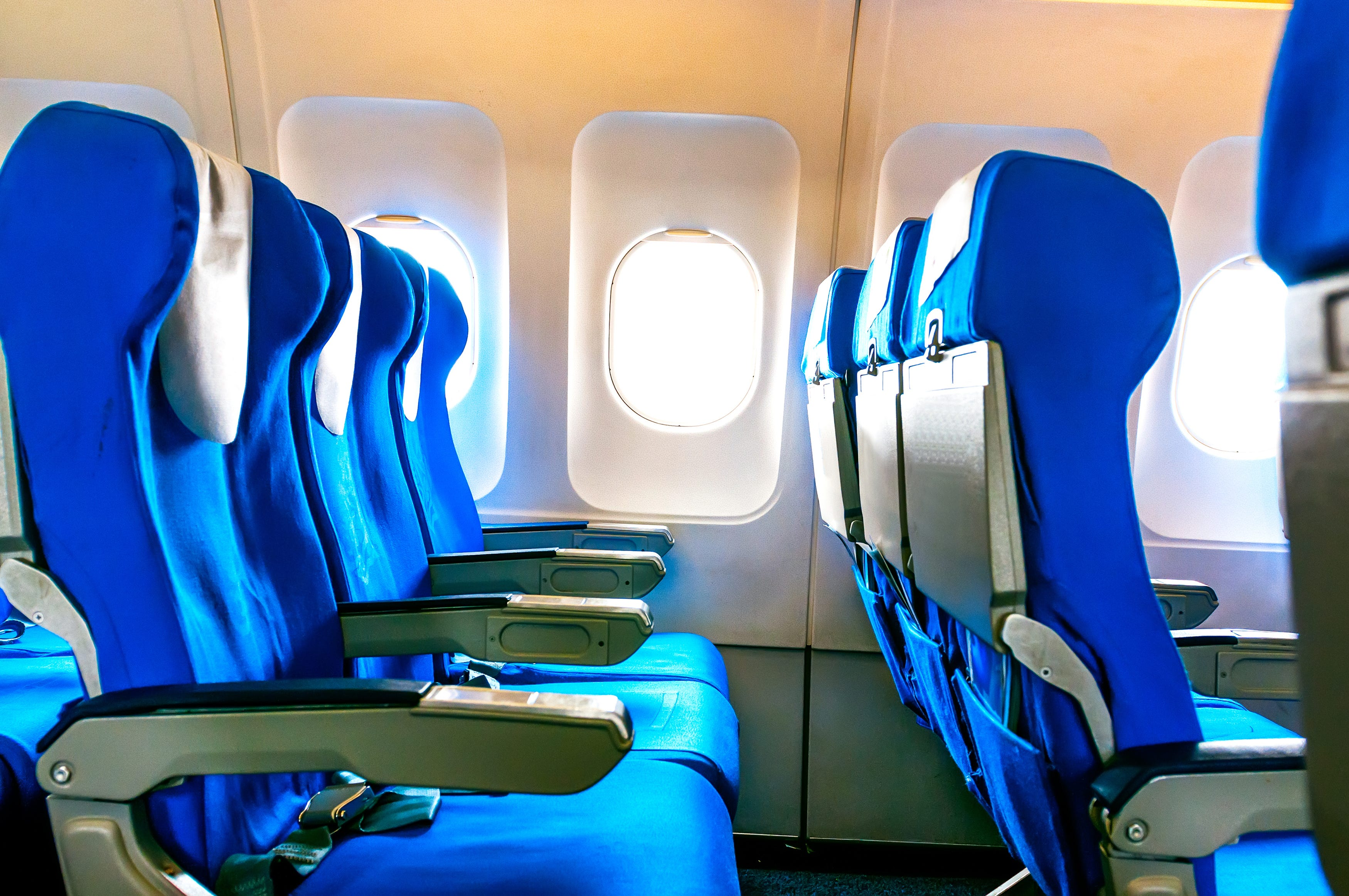 Slide 62 of 85: While traveling on aBoeing 737-800, I noticed there was no window in Row 10 on the left side. What is the reason for this?  There is often a missing window on jets since the air conditioning vents run up the wall there. Some airplanes also leave a window out in line with the fan section of the engine incase of a blade separation.