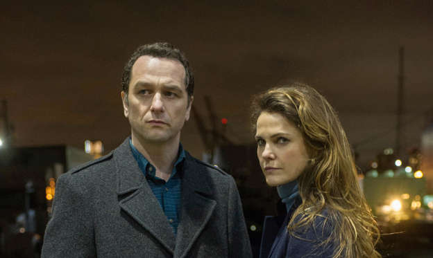 "Slide 1 of 23: ""The Americans"" (FX, 2013-2018) with Matthew Rhys and Keri Russell"