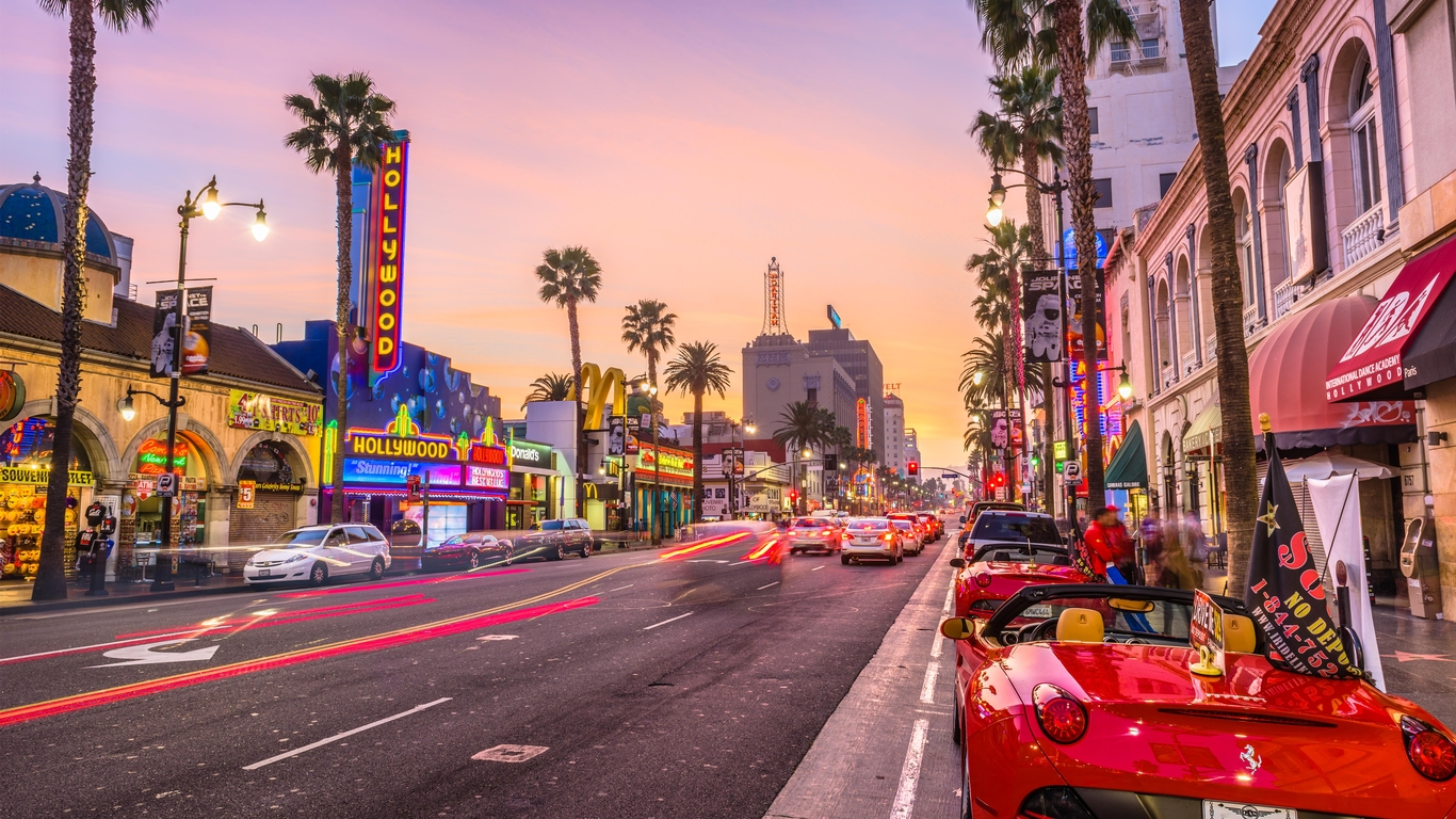 Slide 9 of 21: Hollywood has always been a big tourist destination, known for its great shopping, nightlife and star-watching experiences. Los Angeles is also a warmer beach destination, which is a big draw this year.