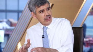 Mohamed A. El-Erian wearing a neck tie: Mohamed El-Erian