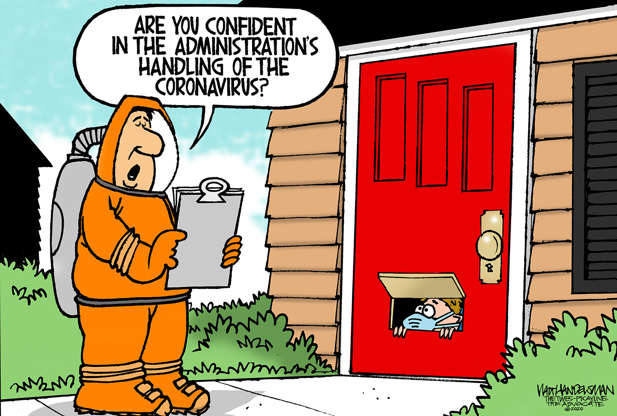 Slide 3 of 50: Walt Handelsman/The New Orleans Advocate