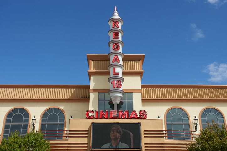 Slide 32 of 33: At all Regal movie theater locations, AARP members get a 20% discount on Regal ePremiere tickets when they're purchased online, as well as $3 off of popcorn and soft drink combos.