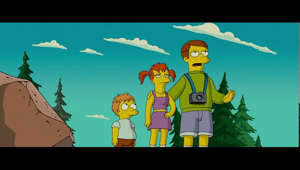 The Simpsons Movie - Tom Hanks Cameo (HDTV 2007)