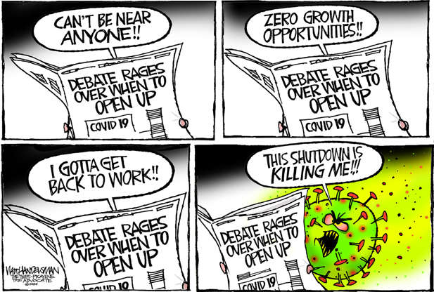 Slide 11 of 50: Walt Handelsman/The New Orleans Advocate