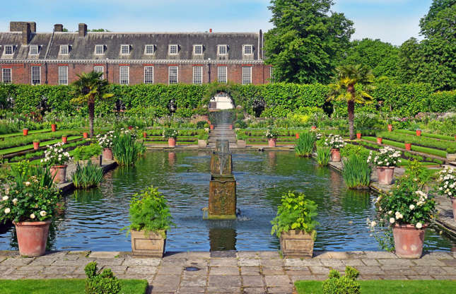 Slide 53 of 53: The palace boasts some of the most well-kept gardens in London. One of the most popular is the Sunken Garden, which is modeled on a style mainly found in the 18th century. Loved this? Seethe world's top 50 stately homes