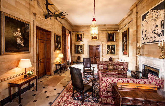 Slide 47 of 53: Like the Queen's other residences, the castle isn't completely closed off to us commoners. If you want to take a peek inside the castle yourself, Hillsborough is normally open to the public on weekends in April, May, June and September.