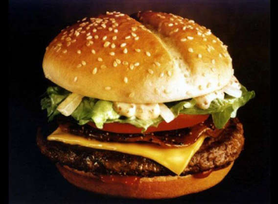 """Slide 8 of 21: There was nothing wrong with the actual Arch Deluxe burger that McDonald's debuted in 1996. It had bacon, lettuce, tomato, cheese, onions, ketchup, and a secret sauce.The problem was the advertising, which McDonald's famously spent over $200 million on. The company marketed the Arch Deluxe as a sandwich for only adults, calling it """"the burger with the grown-up taste."""" The company even launched a commercial featuring two young rappers saying """"yuck"""" when they saw the Arch Deluxe. Wrong move, Mickey D's!The Arch Deluxe didn't find its fans and was yanked from McDonald's menu in 2000 (though it made a brief return in 2018). But at least it brought us this commercial featuring a young Jessica Biel.RELATED: The easy way to make healthier comfort foods."""