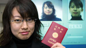 a close up of a woman in glasses looking at the camera: Japan holds the top spot for 2020.