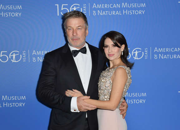 Slide 1 of 52: US actor Alec Baldwin (L) and Hilaria Baldwin attend the American Museum of Natural History Gala on November 21, 2019 in New York City. (Photo by Angela Weiss / AFP) (Photo by ANGELA WEISS/AFP via Getty Images)