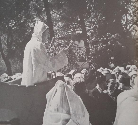 10 avril 1947 : Mohammed V à Tanger pour prononcer son discours historique